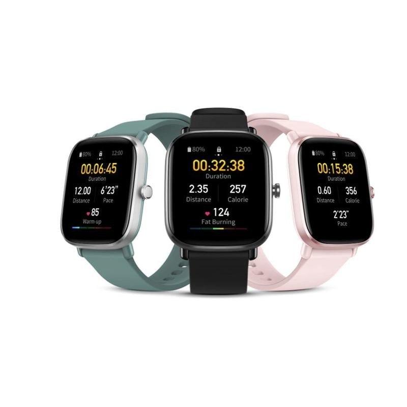 Amazfit GTS 2 Mini Smartwatch With Sp02 level Measurement Green