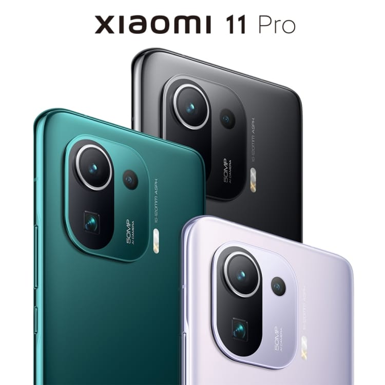 Original Xiaomi Mi 11 Pro 8GB 128GB 6.81 inch 2K AMOLED MIUI 12 Smartphone 5G Celulares-Xiaomi Celular Xiaomi Mi 11 Pro - CN Version