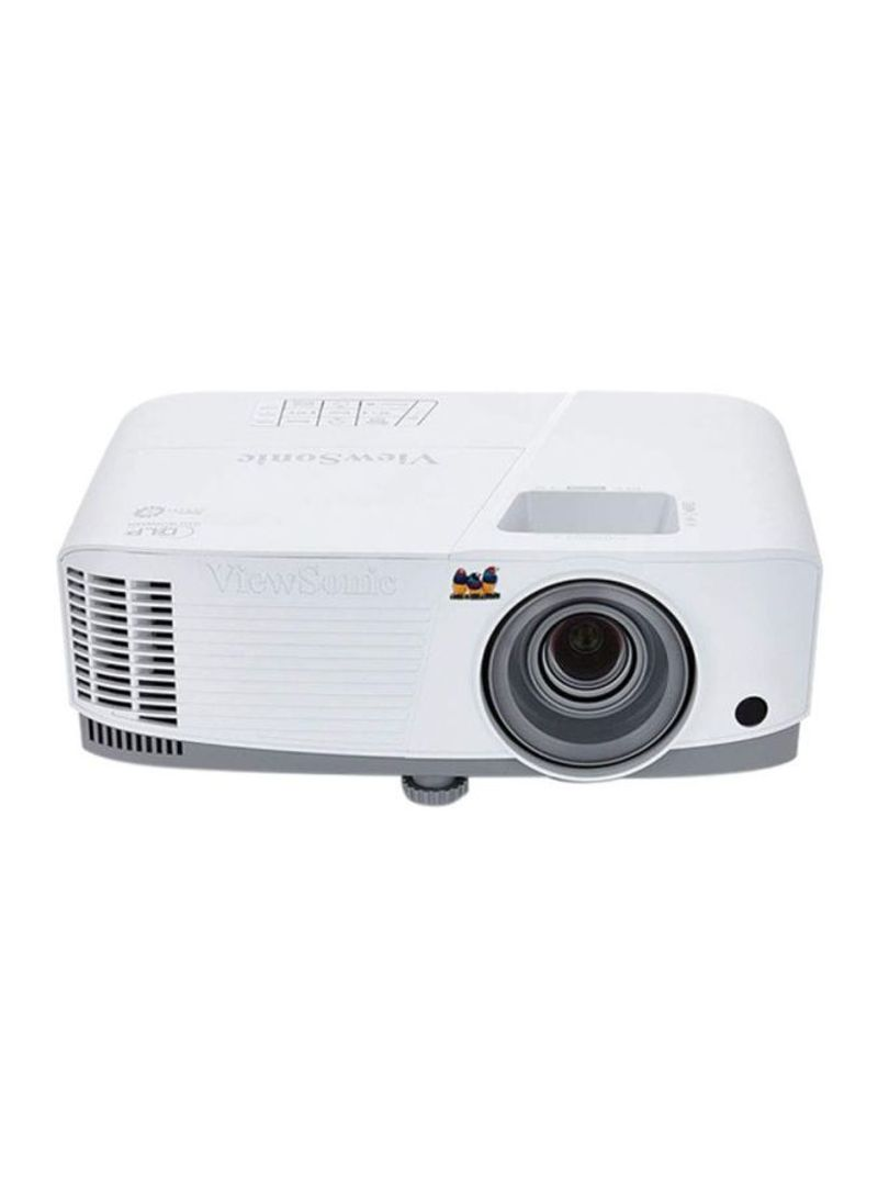 ViewSonic 3600 Lumens XGA High Brightness Projector For Home And Office With HDMI Vertical Keystone And 1080p Support (PA503X), White