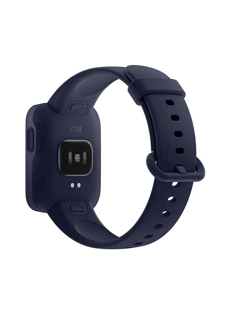 Xiaomi Smart Watch Lite - Navy Blue - 1.4 Inch Touch Screen, 5ATM Water Resistant, 9 Days Battery Life, GPS, 11 Sports Mode, Step Counter, Sleep and Heart Rate Monitor, Fitness Tracker, Activity Tracker