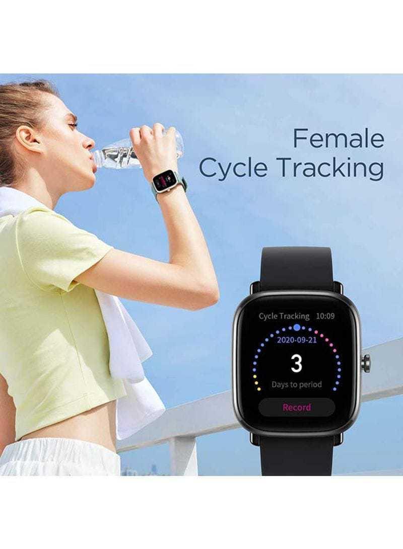 Amazfit GTS 2 mini Smartwatch With Sp02 level Measurement Midnight Black