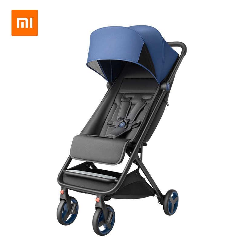 Xiaomi Mitu Folding Baby Stroller - Blue