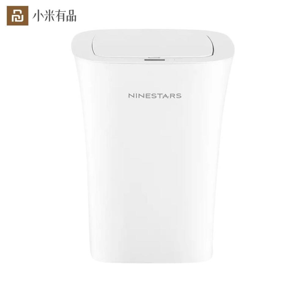Youpin NINESTARS Smart Trash Can Ashbin Sensor Kitchen Bathroom 10L