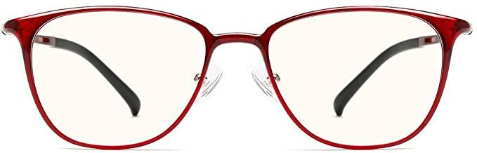 XIAOMI MIJIA TS COMPUTER GLASSES UV400 Anti Blue Light Ray Glasses Radiation Protection - Red