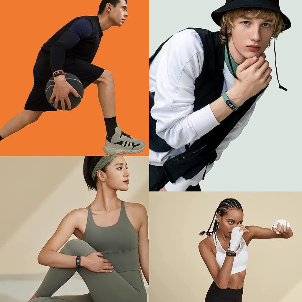 Xiaomi Mi Smart Band 6 Sports Smart Bracelet - AMOLED Display - Black