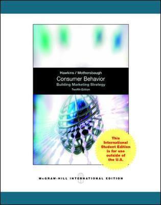 Consumer Behavior: Building Market Strategy