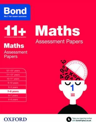 Bond 11+: Maths: Assessment Papers : 7-8 years