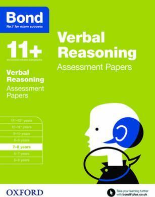 Bond 11+: Verbal Reasoning: Assessment Papers : 7-8 years