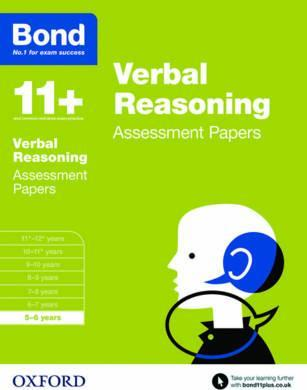 Bond 11+: Verbal Reasoning: Assessment Papers : 5-6 years