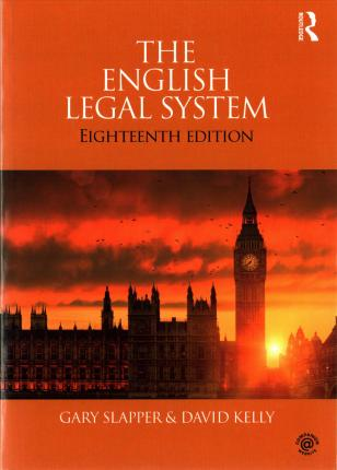 The English Legal System : 2015-2016