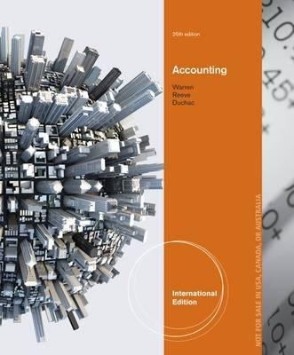Accounting, International Edition
