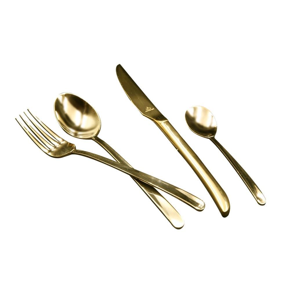 Arshia TM548G 24PCS Gold Cutlery Set