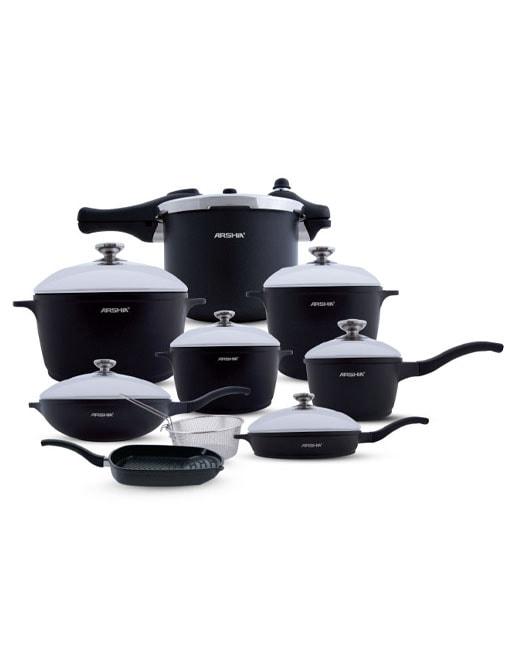 Arshia 16PCS DC Cookware Set