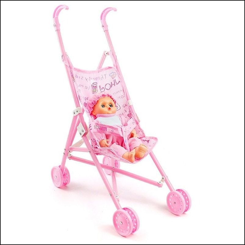 Baby Cayla Doll 36cm with Trolley