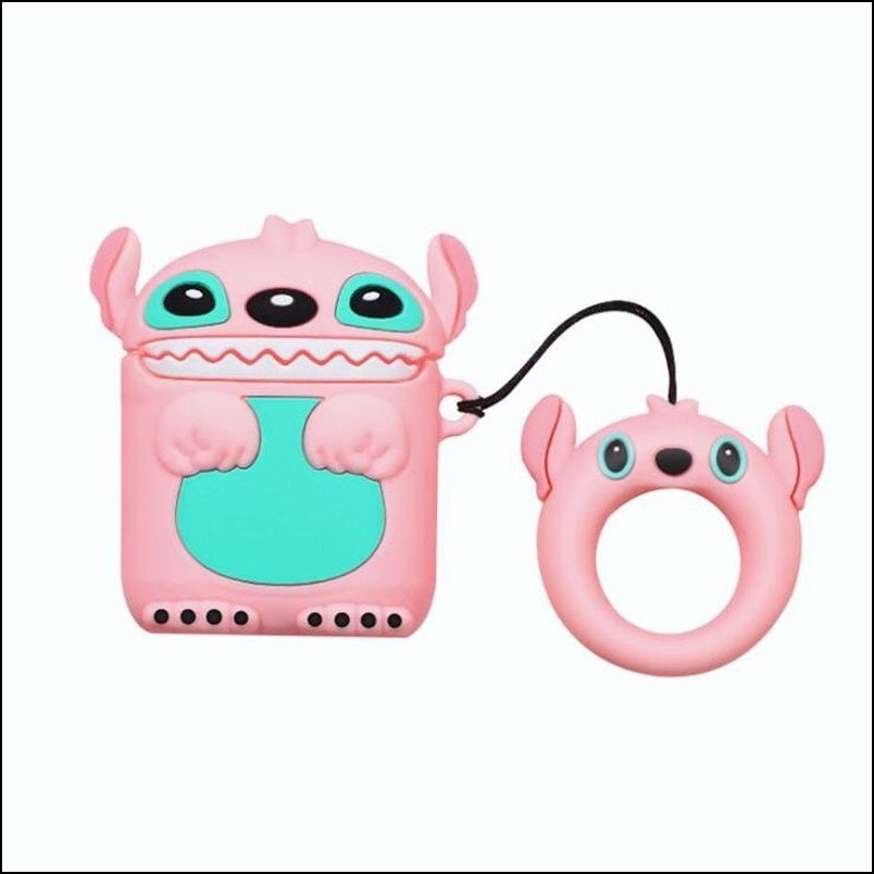 3D Character Airpods Case, Silicon Type
