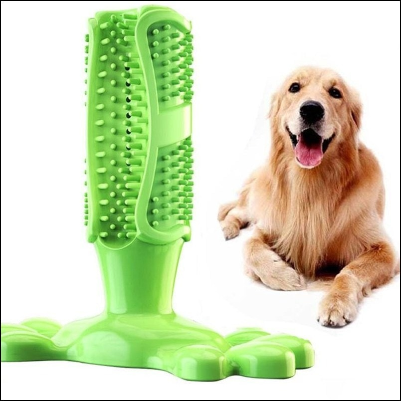 Anti-Anxiety Chew Toys for pet (Rubber Teeth Toothbrush)