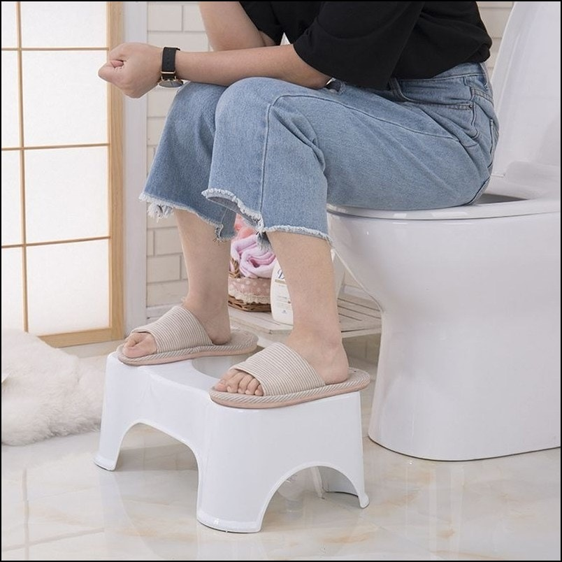 Nonslip Bathroom Toilet Stool
