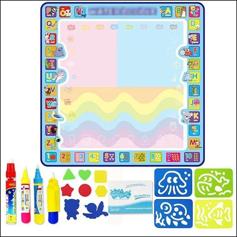 100 X 100 cm Extra Large Aqua Magic Doodle Mat