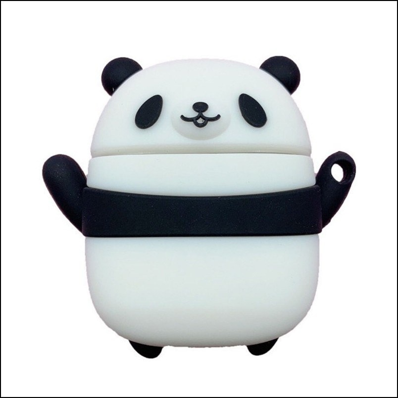 Panda - Airpods Case with Keychain