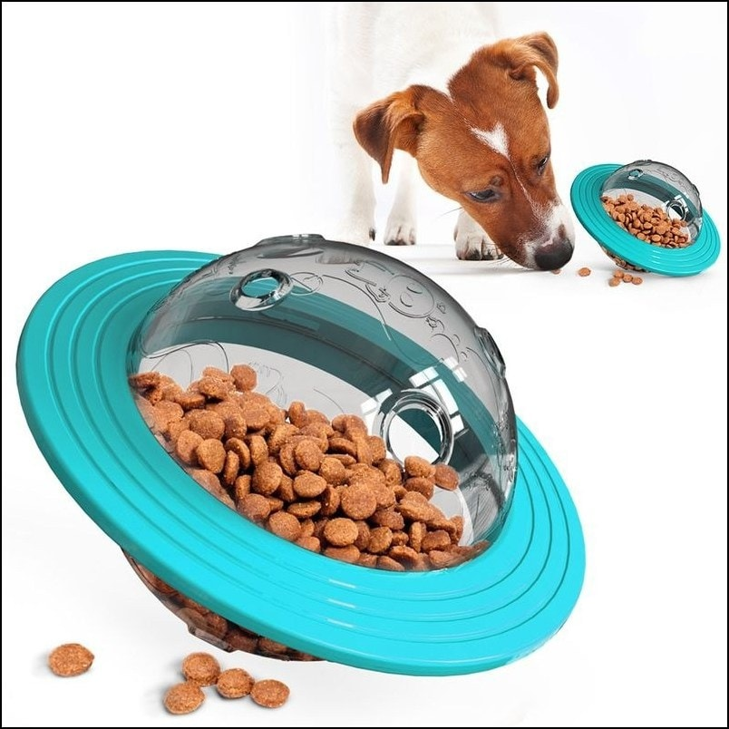 IQ Treat Ball Dog Treat Ball (Treat Dispensing Toy and Interactive Toy)