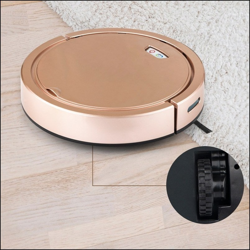 Multifunctional Floor Cleaning Smart Robot with Anti-Falling Cliff Sensor