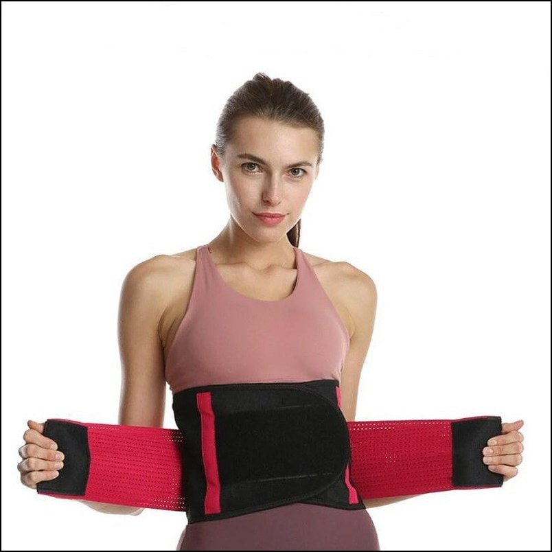 Women - Waist Trimmer Trainer Belt