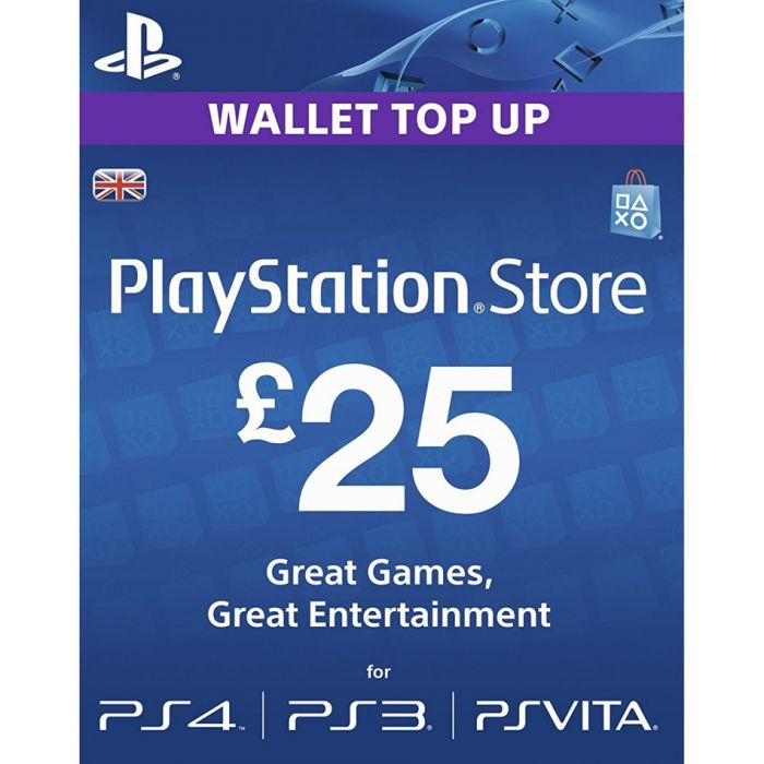 PlayStation Network Card £25 (UK) - Email Delivery