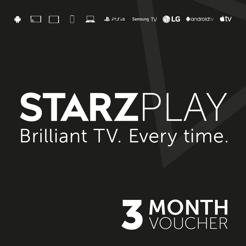 Starzplay 3 Month Subscription - Email Delivery