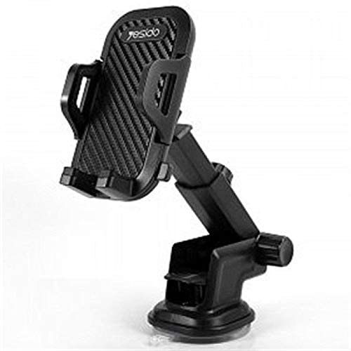 Yesido 360 Degree Rotation Free Stretch Automatic Clip Mobile Phone Car Holder, C23