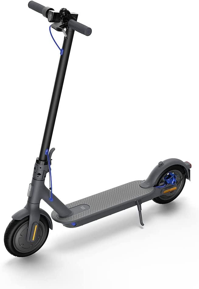 Xiaomi Mi Electric Scooter 3 Black | 25 km/h Maximum Speed | Aerospace grade aluminum body - 2021 Model