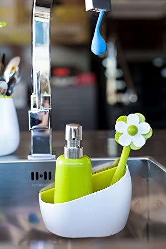 Vigar Flor Sink Side Set (Soap Dispenser And Brush)