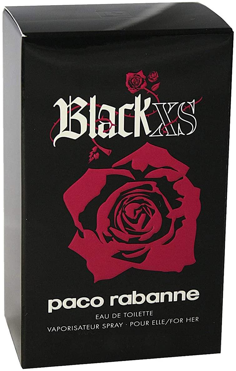 Paco Rabanne Black XS for her For Women 80ml - Eau de Toilette