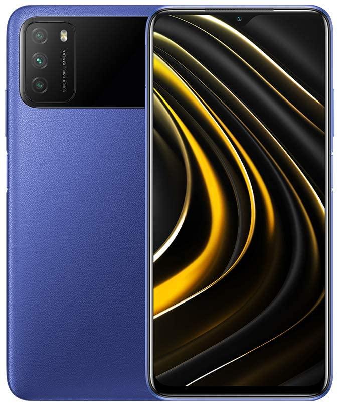 Poco M3 Dual SIM Smartphone Cool Blue 4GB RAM 64GB 4G LTE (EU Version)