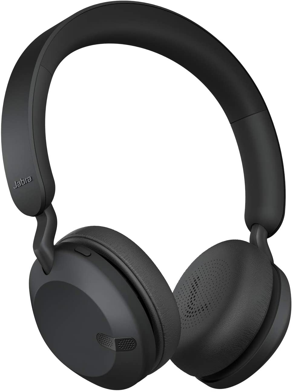 Jabra Elite 45h Wireless On-Ear Headphones - Compact, Foldable Earphones with 50-Hours Battery Life - 2-Microphone Call Technology - Black