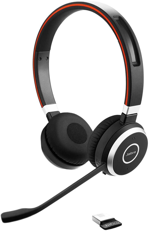 Jabra Evolve 65 UC Wired Headset - Professional Unified Communicaton, Black