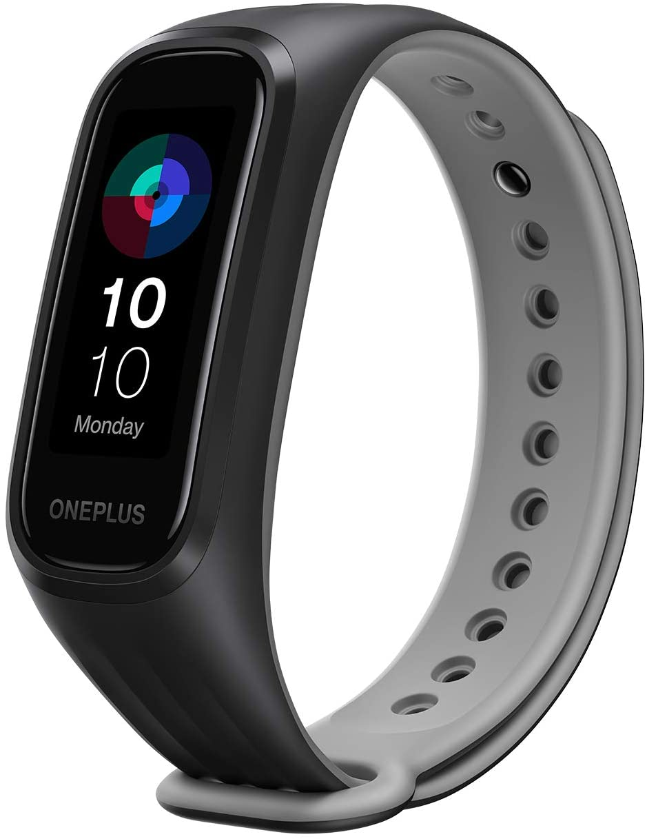 ONEPLUS band Blood Oxygen Saturation Monitoring 24/7 Health Companion 5ATM / IP68 Water Resistance (black)