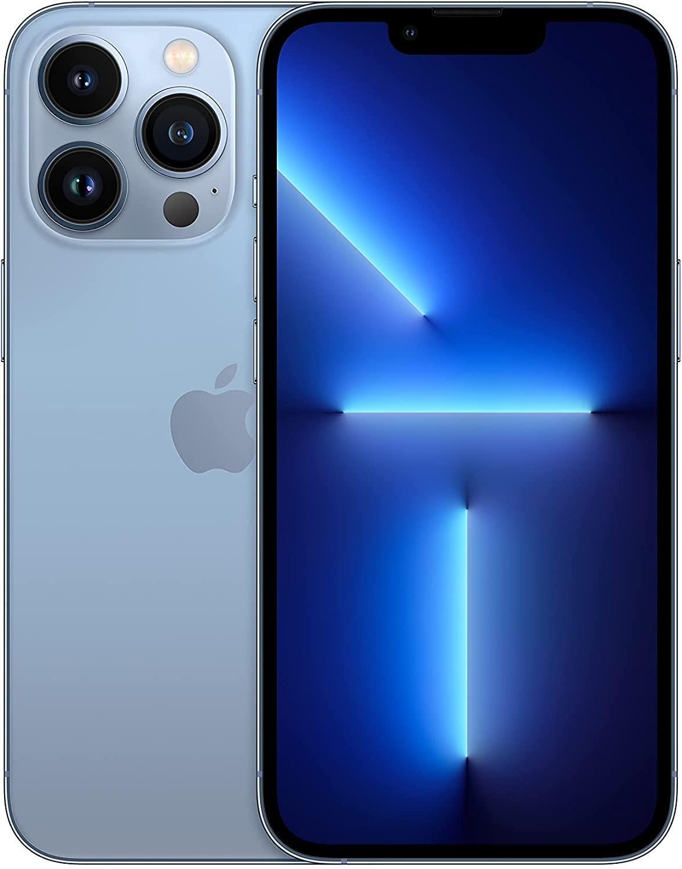 New Apple iPhone 13 Pro with Facetime (128GB) HK Version Dual SIM - Sierra Blue