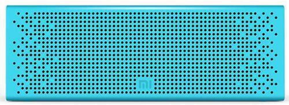 Xiaomi Mi Wireless Bluetooth Speaker with AUX input, Hands Free Support For Calls, Portable, For Outdoor, Home & Travel Compatible With Smartphones, Tablets, TVs, Laptops etc - Blue - Metallic Finish
