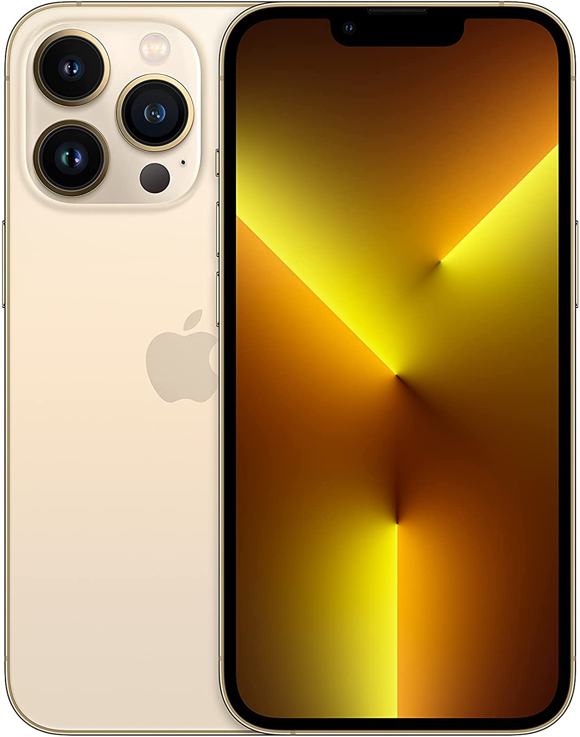 New Apple iPhone 13 Pro with Facetime (256GB) HK Version Dual SIM - Gold