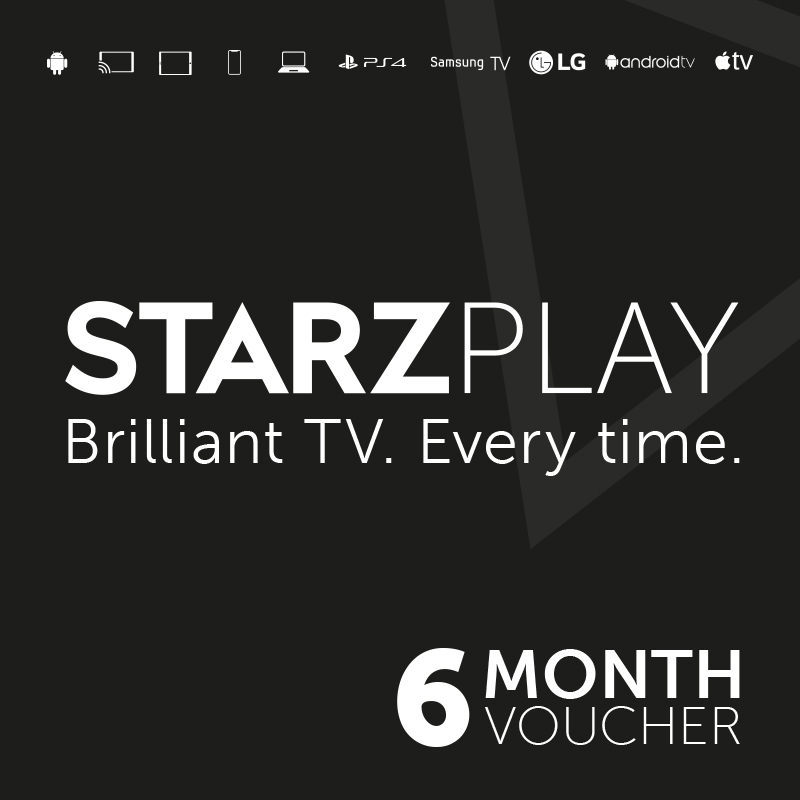 Starzplay 6 Month Subscription - Email Delivery