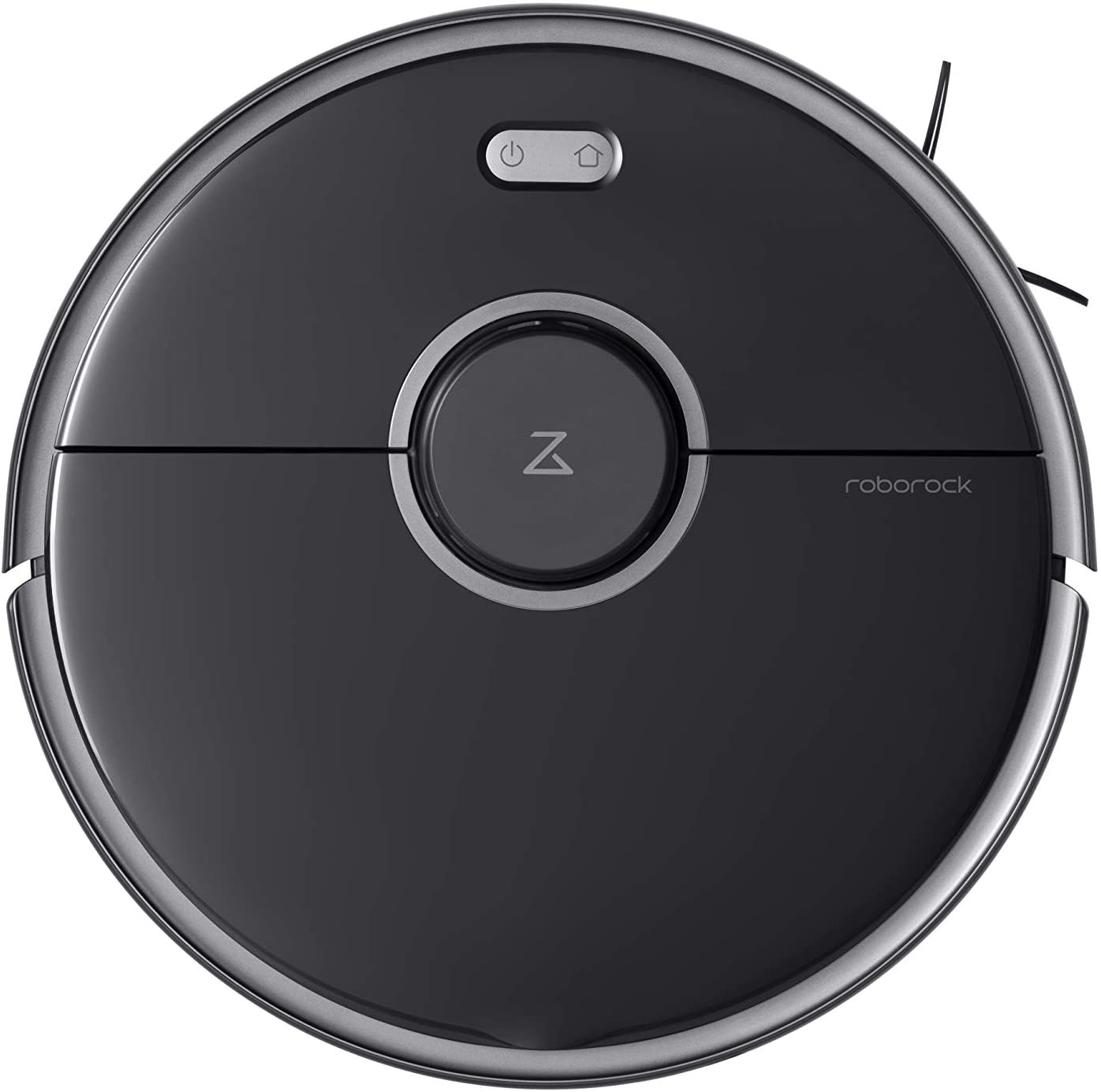 Roborock S5 MAX Robot Vacuum and Mop Cleaner, Self-Charging Robotic Vacuum, Lidar Navigation, Selective Room Cleaning, No-mop Zones with Alexa (Black)