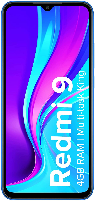 Redmi 9 (Sky Blue, 4GB RAM, 64GB Storage) | 2.3GHz Mediatek Helio G35 Octa core Processor