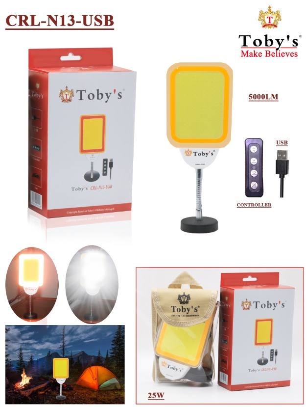 Tobys CRL N13 Multi-Functional controller & USB , Car Repair Light 12V and 24V Dual Voltage Operating Light