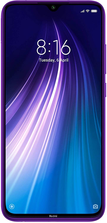XIAOMI Redmi Note 8 Dual SIM 4GB RAM 128GB Purple