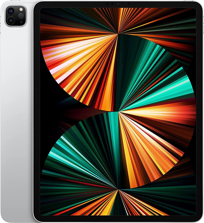 2021 Apple iPad Pro (12.9-inch, Wi-Fi, 256GB) - Silver (5th Generation)