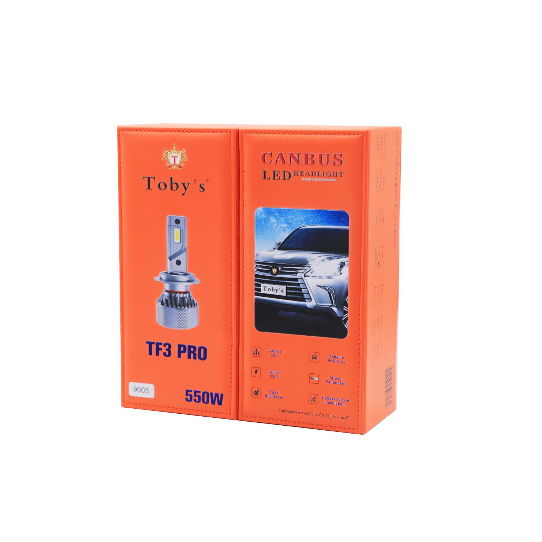 TF3-PRO 9005 LED Headlight Bulbs 550W, 6500K, ZES Technology, Conversion KIT