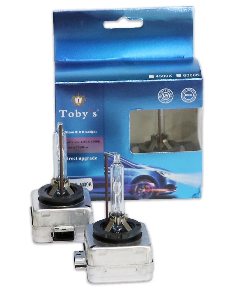 Toby's D3S 6000K HID Xenon Bulb Replacement 70W, D3S 6000K Bulb