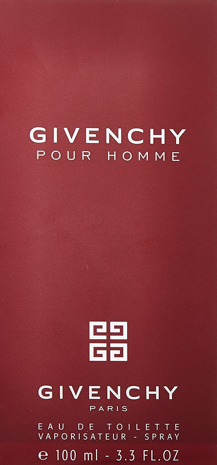 Givenchy Pour Homme - Perfume For Men, 100 ml - EDT Spray