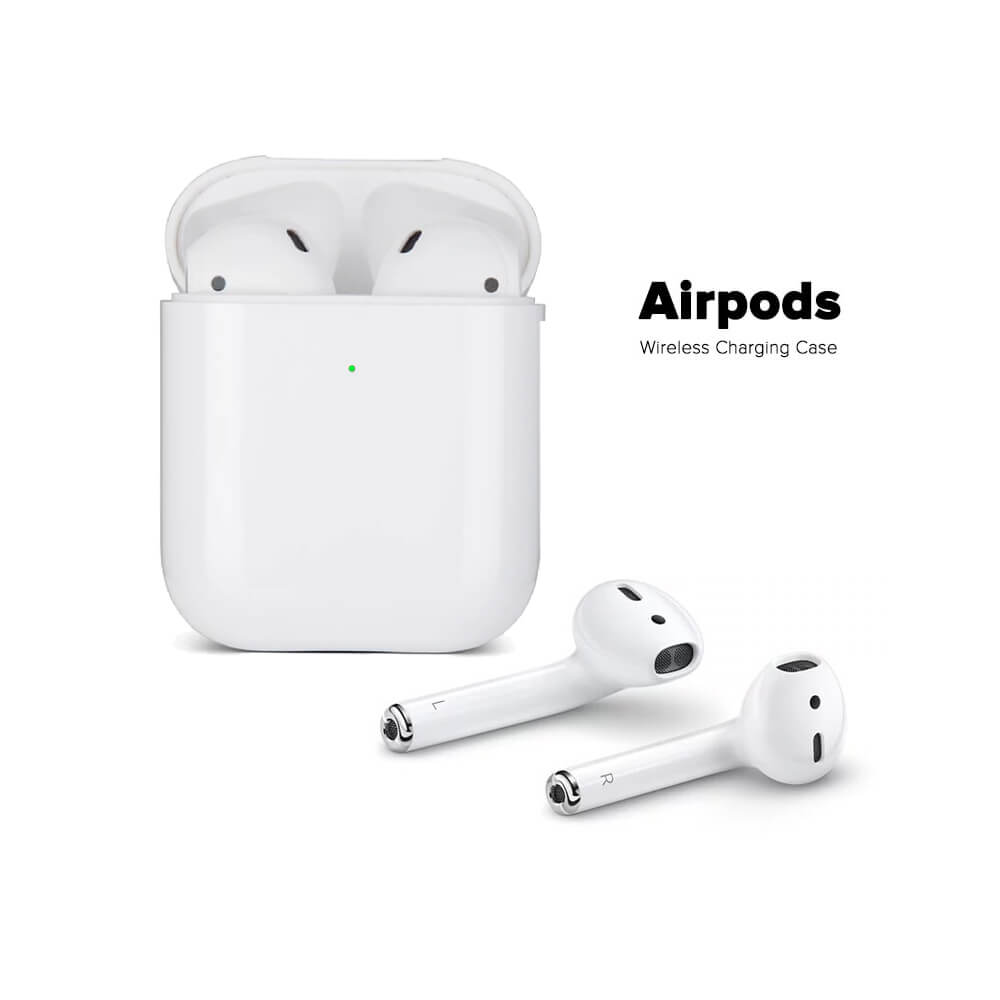 Airpods 2 Wireless Charging Case long life battery timing Earbuds