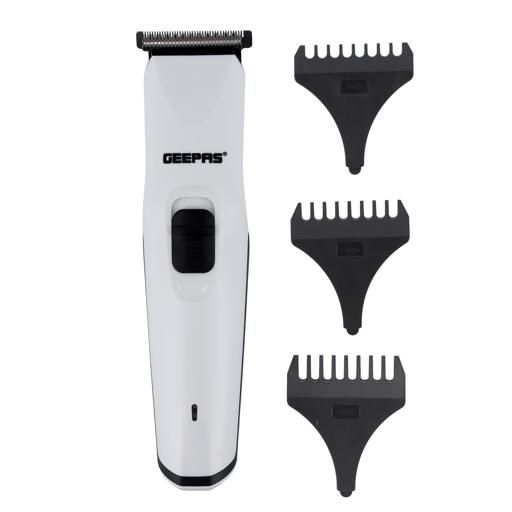Geepas Rechargeable Trimmer with Cordless Operation | GTR8126N | 40 mins Continuous Working | High Cutting Performance | Long Lasting Battery with 6-8 Hours of Charging